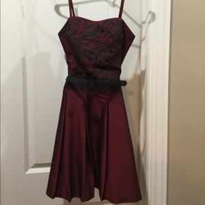 Fit and flare party dress, excellent condition!